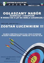 Sekcja ŁUCZNICZA – nabór