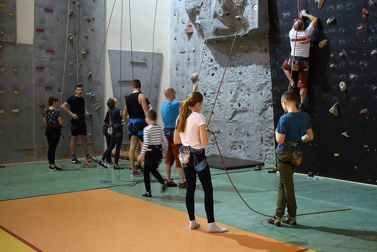 Trening ( 11.03.2019r. ) sekcja wspinaczki-sportowej AKS Strzegom