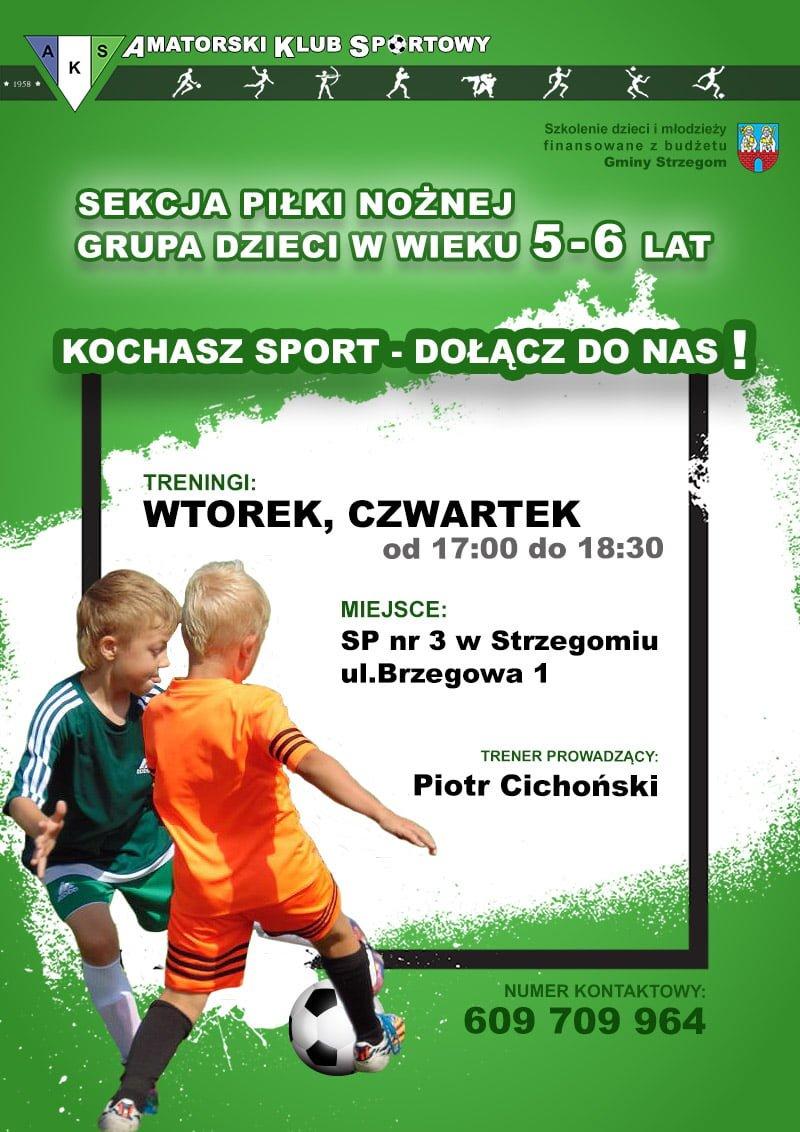 Nabór do sekcji piłki nożnej dzieci 5-6 lat