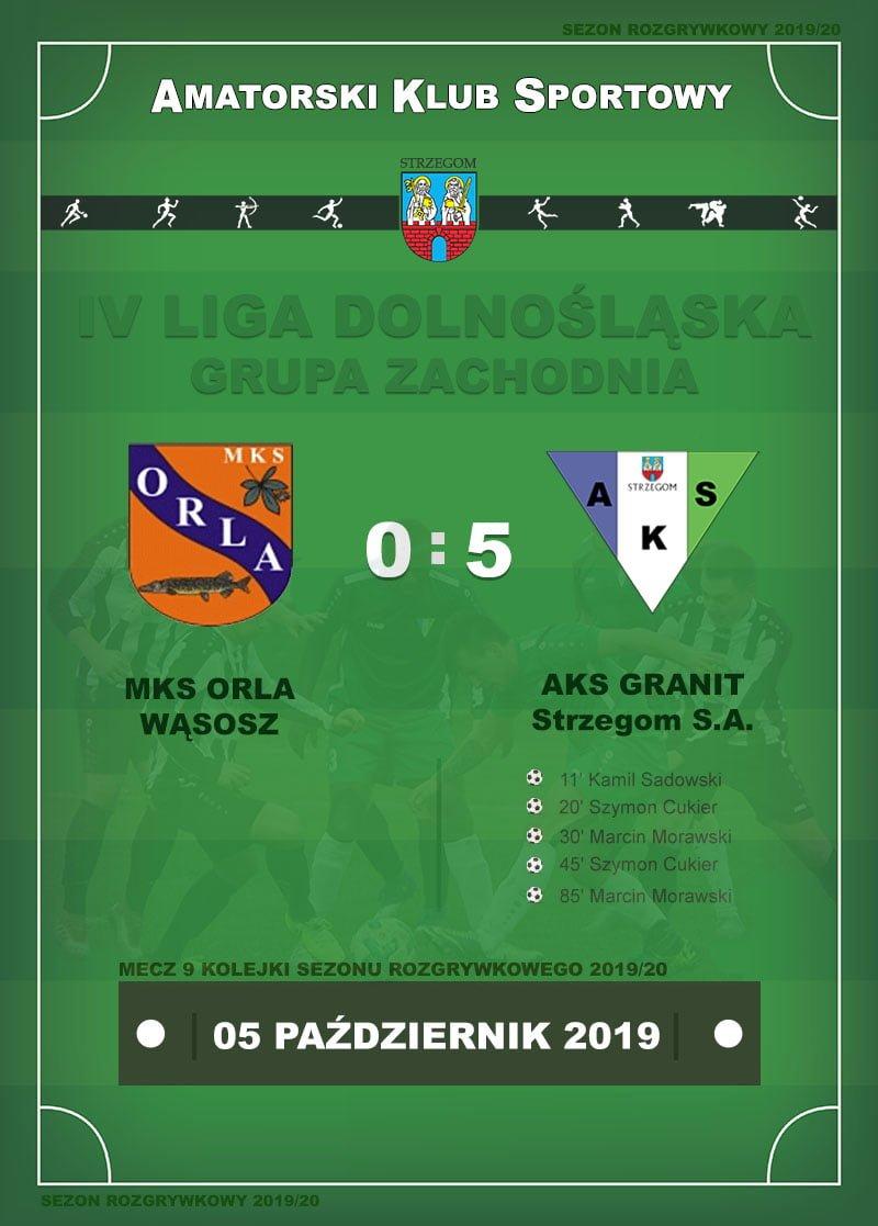 MKS ORLA Wąsosz – AKS GRANIT Strzegom S.A.