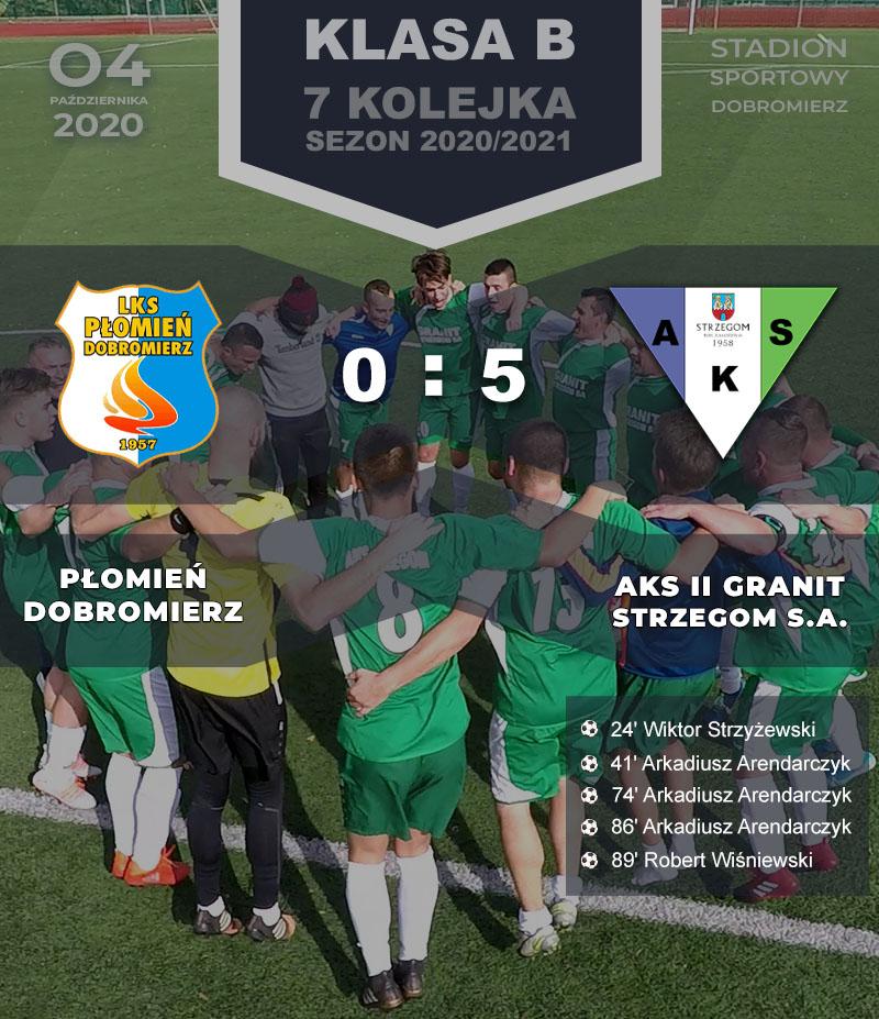 Płomień Dobromierz vs AKS II GRANIT Strzegom S.A.