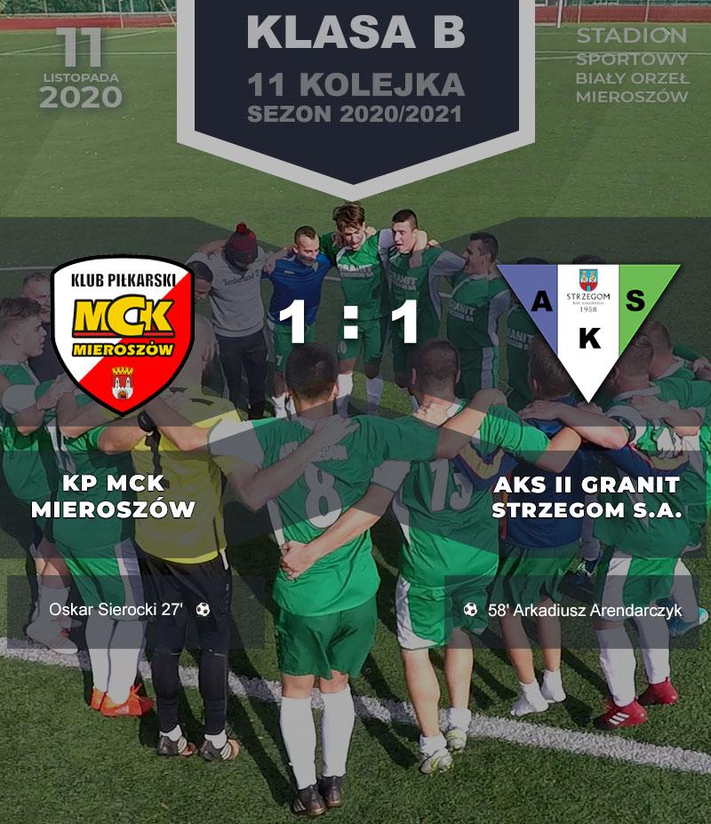 KS MCK Mieroszów vs AKS II GRANIT Strzegom S.A.